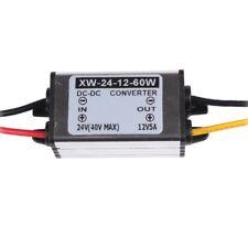 24V To 12V DC/DC Converter Regulator Adapter Waterproof 5A 60W