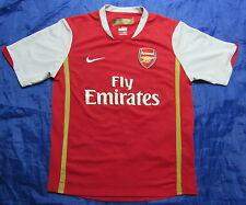 ARSENAL LONDON home shirt jersey NIKE 2006/08 The Gunners BOY L 152-158cm 13YRS