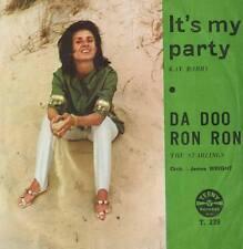 KAY BARRY: IT'S MY PARTY / THE STARLINGS: DA DOO RON RON - Teeny Rec ULTRA RARE