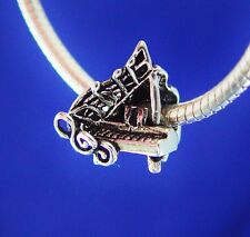 Piano Grand Music Recital Lessons Teacher Pianist Silver European Charm Bead