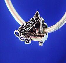 Piano Grand Music Recital Lessons Teacher Pianist Silver European Charm Bead