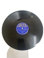 """The Three Suns William Tell Overture 10"""" 78RPM Decca Vinyl"""
