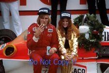 James Hunt McLaren F1 Victory Portrait Photograph