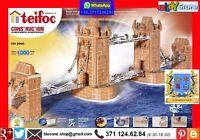 TOWER BRIDGE costruzione KIT MATTONI SET TEIFOC  EITECH PONTE MODELLISMO