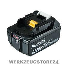 Makita Original Ersatz Akku BL1850B LED-Anzeige Li-Ion 18,0 V 5,0 Ah - BL1850 B