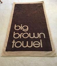Bloomingdales Big Brown Towel Beach and Bath Towel
