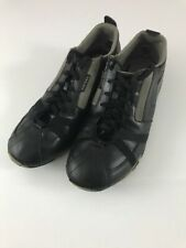 Diesel Respect Sneakers Black & Gray Shoes Mens Size 10