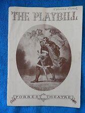 Tobacco Road - Forrest Theatre Playbill - November 20th, 1939 - James Barton