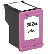 Cartucho de tinta Color HP 302xl compatible con OFFICEJET 3830 F6U65AE F6U67AE