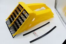 NEW Vito's Yamaha Banshee plastic gas tank side covers + grill 1987-2006 YELLOW