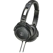 Audio-Technica Solid Bass Over-Ear Headphones, Black