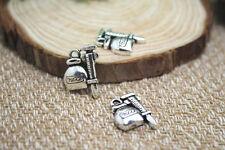 20pcs- Syringe Charms Antique Tibetan silver Syringe Charms pendants18x15mm