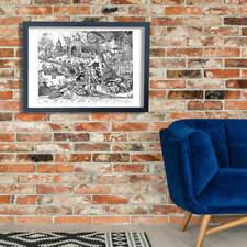 Pieter Bruegel the Elder - Luxuria Wall Art Poster Print