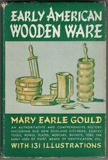 New ListingOld Kitchenware Tableware Cookware Book Antique Early American Wooden Ware