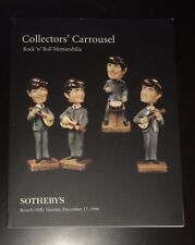 Sotheby's New York Animation Art / Rock n Roll Auction Catalog December 1996