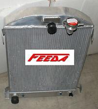 New 3 ROW Aluminum Radiator for 1932 FORD HI-BOY Ford ENGINE +2*10FAN