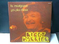 RICET BARRIER La manigance / y'a plus d'sous .. MLP 900145