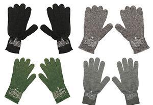 Genuine GI Glove Liners Wool/Nylon Blend Made in USA
