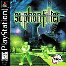 Syphon Filter PS1 Great Condition Complete Fast Shipping