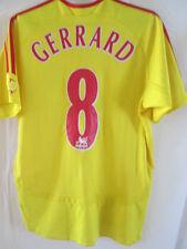 Liverpool 2006-2007 Away Football Shirt Size Medium Gerrard  /9233