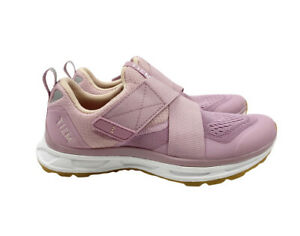 Tiem Womens 7 Slipstream Cycling Spin Biking Sneakers Clip In Comfort Strap Pink