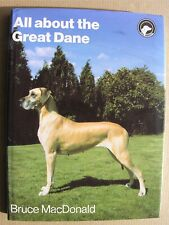 More details for 1987 all about the great dane bruce macdonald pelham books hardback dust jacket
