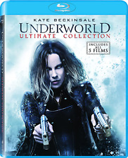 Underworld Ultimate Collection Movies Blu Ray Set Awakening Evolution Blood Wars