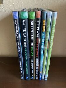 7 DC Comics Hardcover LOT Superman, Batman, Green Lantern and Flash - VF/NM
