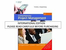 Contemporary Project Management, 2nd ed. by Timothy Kloppenborg