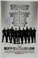 Dolph Lundgren The Expendables Autograph JSA 12 x 18 Signed Photo