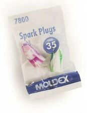 20 Pairs of Moldex Spark 7800 Foam Ear Plugs, SNR 35dB, PVC Free (FREE UK P&P)