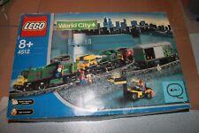 Coffret Lego Train 4512 World City