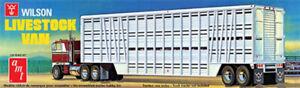 1:25 Scale Wilson Livestock Trailer Plastic Model Kit