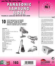 15 x Panasonic Sacchetti per aspirapolvere a parete spessa icona mc-e581 mc-e582 mc-e583