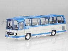 Mercedes O302 O 302 10R 1972 blue white Bus 008 diecast modelcar IXO 1:43