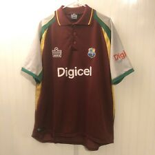 West Indies Cricket Jersey Shirt Men's Xl Digicel Admiral Rare Vintage