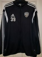 Adidas FC Juventus Football Academy 39 Tracksuit Trackie Zip Top L VGC RARE
