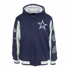078e43509 Dallas Cowboys Commemorative 5x Super Bowl Champs Sz L Varsity Fleece Jacket  NFL