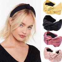Fashion Women's Wide Headband Knot Headband Hair Band Hoop Accessories Headpiece