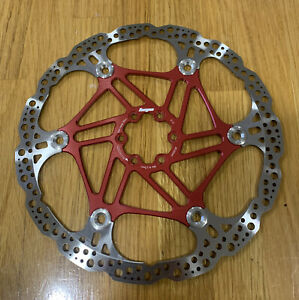 Hope 220mm Floating Rotor Red