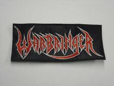 WARBRINGER THRASH METAL EMBROIDERED PATCH