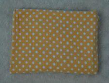 HB Hudson Baby Orange White Polka Dot Receiving Blanket Flannel Swaddle