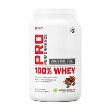 GNC Pro Performance® 100% Whey - Natural Chocolate, 25 Servings