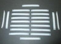 (Stck 40 ct) Litzenhalter 20 Stück mit je 25 Klemmen für 0,14mm² Litzen   *NEU*