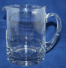 Krosno - Poland - Clear Glass Jug/Pitcher - VGC
