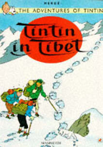 TINTIN in Tibet soft cover by Mammoth