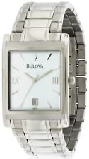 Bulova Stainless Steel Mens Watch 96B108
