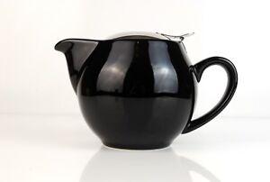 Tea Pot for Loose Leaf Tea (0.5 Litre) - 4 Colours, Strainer, Diffuser, Infuser