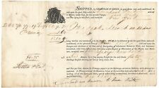 Liverpool Packet Bill of Lading 1805, George Newbold, New York, Capt Isaac Waite