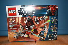 Lego 9491 Star Wars Geonosian Cannon 132 Pieces